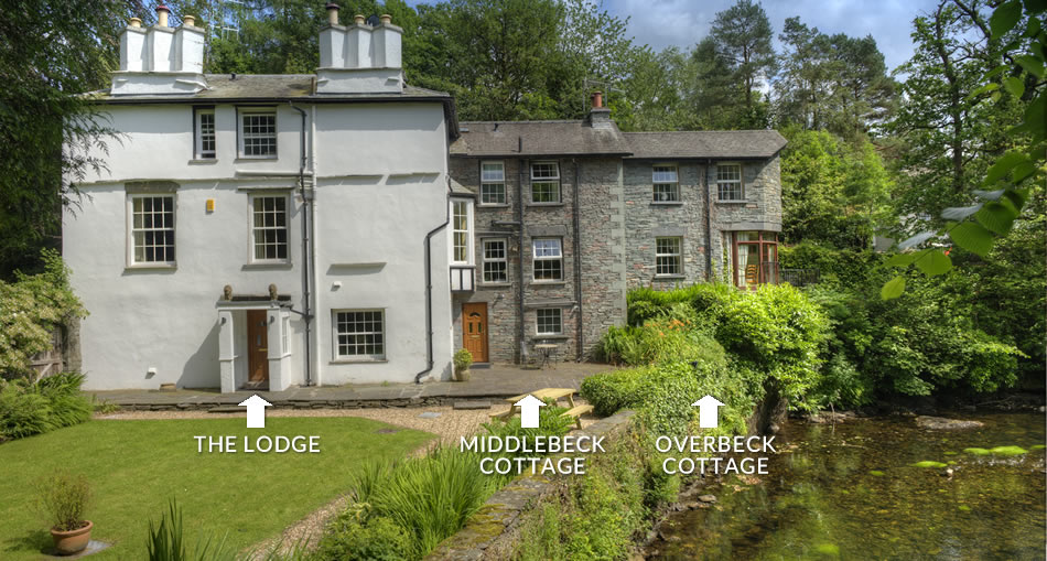 The Lodge, Middlebeck Cottage & Overbeck Cottage